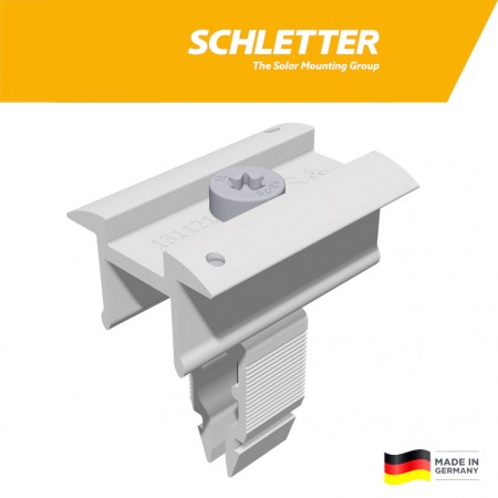 Stredový úchyt Schletter Rapid16 pre výšku panela 30 - 40mm