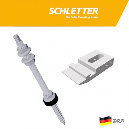 Kombivrut 12x300 s KlickTop dielom Schletter 110012-300