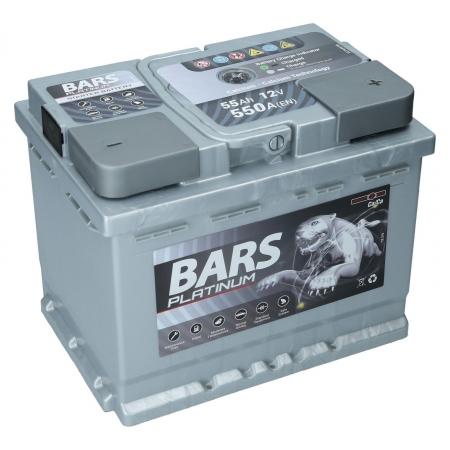 Bars Platinium 12V, 55Ah, 550A