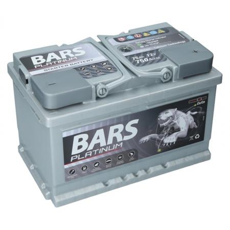 Bars Platinium 12V,  64Ah, 610A