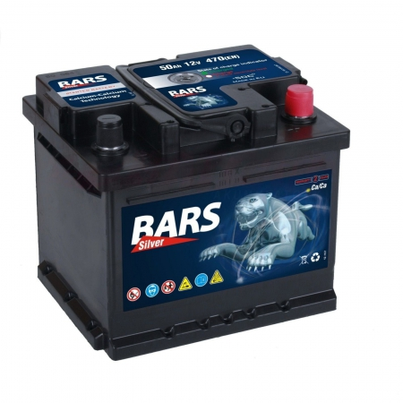 Bars Silver 12V, 44Ah, 380A