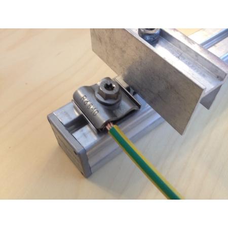 Úchyt pre uzemnenie pre drôt 8mm Schletter 135003-002