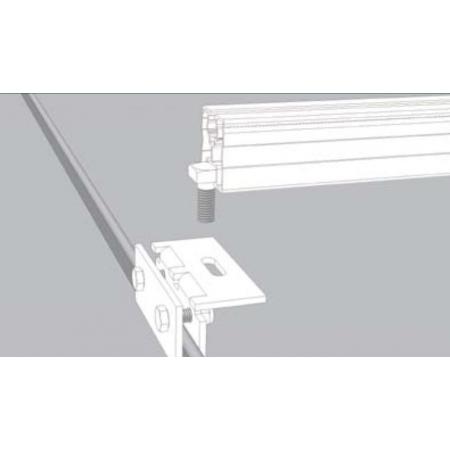 Nosná konštrukcia Schletter pre šikmú falcovanú strechu