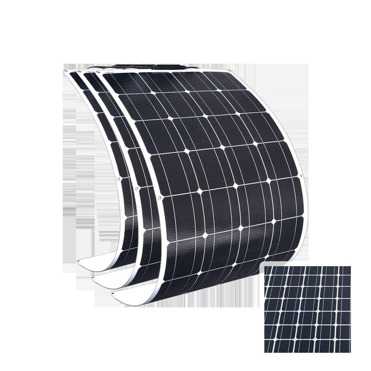 Flexibilné prenosné panely