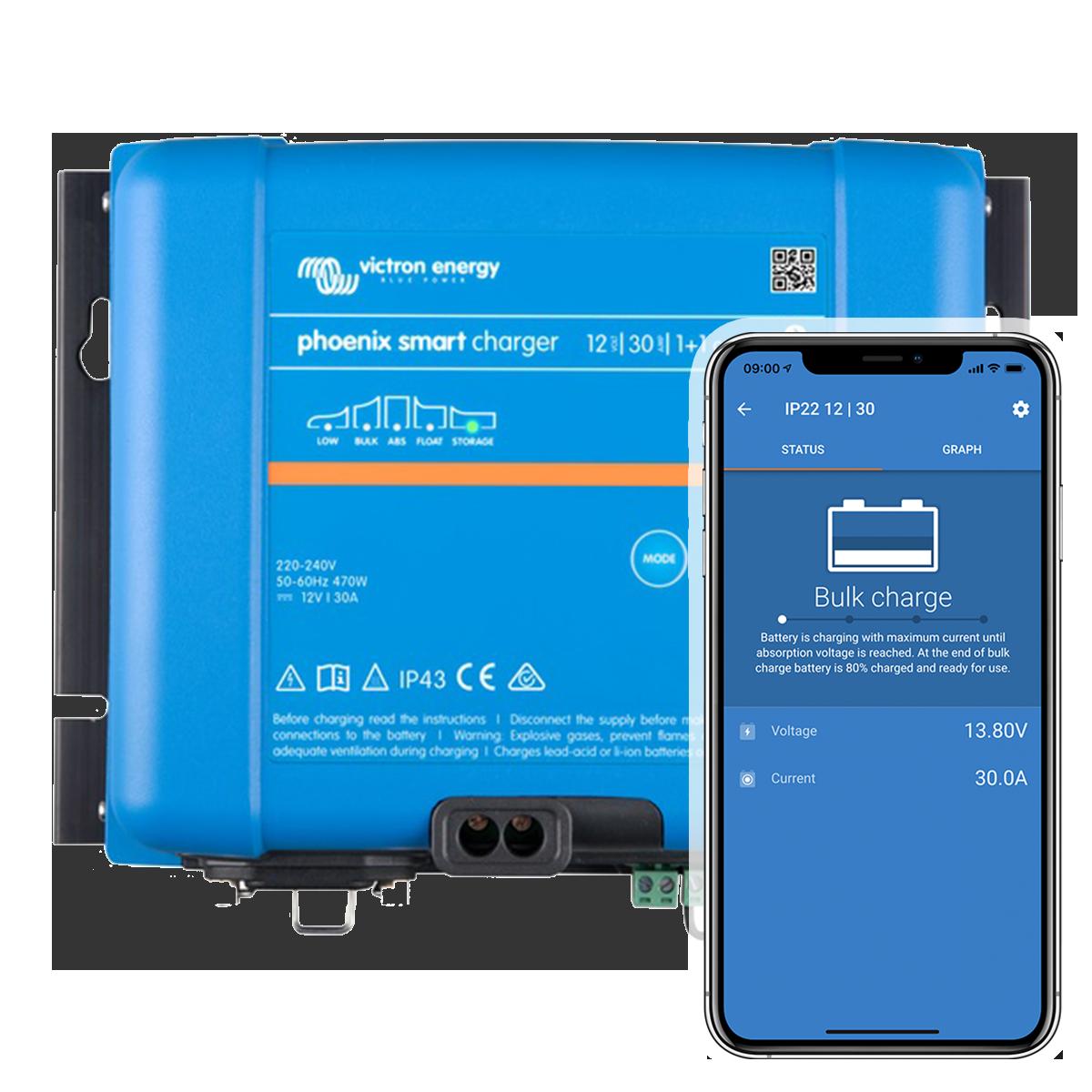 Nabíjačky Phoenix Smart IP43